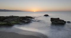 Amanecer sedoso (jamp_foto) Tags: playa amanecer serenidad seda sol agua cielo serenity silk sun sunrise beach water sky mlaga spaa spain jampfoto