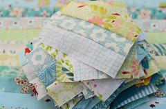 summer quilt progress (balu51) Tags: patchwork quilting sewing quilt summerquilt stashsewing fabric blue green lightcolors strips quiltprogress wip latesummer garden august 2016 copyrightbybalu51