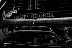 Campfire Grill (timbu) Tags: statefair mnstatefair minnesota minnesotastatefair 2016 mono