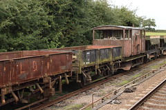20150923 112 GCR Quorn. BR 20T GRAMPUS ZBO DB984642 (15038) Tags: railways trains br britishrail greatcentralrailway gcr lner quorn wagon goods freight grampus zbo 984642