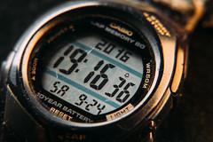 Clock (arozetsky) Tags: casio clock watch wrist macro