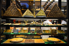 Heaven (Francisco Anzola) Tags: istanbul beyoglu city urban dusk dessert baklava delicious pyramidsofflavor honey decadent scrumptious sweets