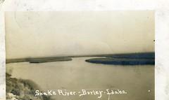 [IDAHO-B-0183] Snake River - Burley (waterarchives) Tags: idaho realphotopostcardrppc river burley snakeriver