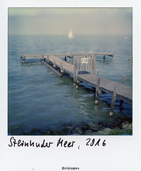 Am Meer # 001 # Polaroid SX70 Mod2 folding Impossible SX70 Color - 2016 (irisisopen f/8light) Tags: polaroid sx70 mod2 impossible color analog sofort instant irisisopen