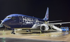 G-FDZG Thomson Airways Boeing 737-800 @ Exeter Airport, Devon. (Cornish Aviation) Tags: gfdzg thomson airways boeing 737800 exeter airport devon 738 aviation airplane avgeek