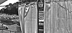 """Air of Sea"" (giannipaoloziliani) Tags: giannipaoloziliani tends lanterna lantern streetphotography water boats visual tende view panorama liguria landscape beach nikond3200 nikoncamera nikon sea mare italy portofino biancoenero monochromatic blackandwhite"
