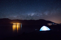 Camping under the stars (lpcortesfotografias) Tags: vicua chile sonya58 sonyalpha landscape universe stars cosmos milkyway camping outdoor night regiondecoquimbo longexposure