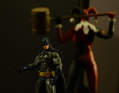 Step aside Harley............ (FOXHOUNDS_FINEST) Tags: harleyquinn batman actionfigure toyphotography toys toy realism joker suicidesquad dc dccollectibles icons nikon comics