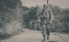 FJR5-10 (Andy Darby) Tags: bosworthfjr5 bosworth battlefield railway battlefieldrailway fjr5 fallschirmjager german reenactment uniform k98 mg42 ppsh41 marching war andydarby