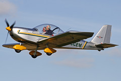 G-CCEM (QSY on-route) Tags: fly 2012 in breighton gccem 07102012 hiberntion