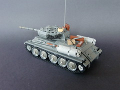 Lego ww2 -U.S.S.R T-34- (=DoNe=) Tags: world 2 by viktor ego war custom done t34