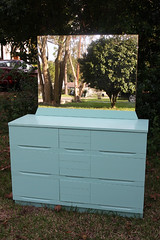 saras dresser after (Its Lina) Tags: green vintage mirror diy furniture painted mint 1950s after makeover 50s dresser mintgreen refinished harmonyhouse sixdandylions