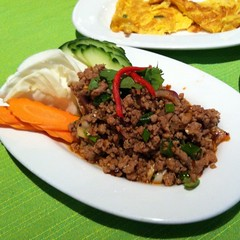 Spicy Minced Pork Salad | ลาบหมู @ Thai Kitchen