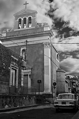oooo (OBRAKe) Tags: bw italy canon eos chiesa 7d sicilia biancoenero blackewhite theauthorsplaza