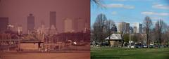 Moakley Park, South Boston, MA 1973 & 2012 (usepagov) Tags: boston change environment thennow documerica stateoftheenvironment