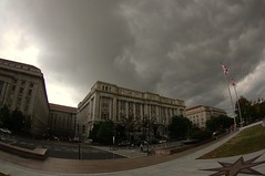 daylight darkness (philliefan99) Tags: sky weather clouds washingtondc districtofcolumbia downtown cityhall fisheye dcist coldfront freedomplaza federaltriangle pennsylvaniaavenuenw johnawilsonbuilding capitalweather dcgovernment