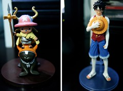 (cloudsofcottoncandy) Tags: anime one monkey chopper action d tony figure piece luffy ruffy