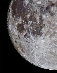 Moon (2) 30 August 2012. (Lathers) Tags: moon garden warwickshire mooncrop canon7d canonef500f4lisusm