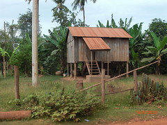 traditional Cambodian house