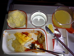 airplane food -after