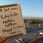 "Today is for Nathan Wilkins - Happy birthday <a style=""margin-left:10px; font-size:0.8em;"" href=""http://www.flickr.com/photos/59134591@N00/8102898306/"" target=""_blank"">@flickr</a>"