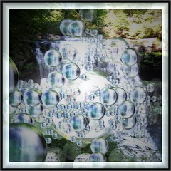 bubble falls (bloorose-thanks 4 all the faves!!) Tags: 3d fractal incendia