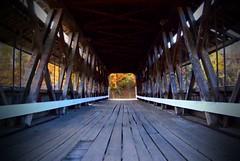 covered bridge colors (LaLa83) Tags: autumn trees ohio tree fall nature leaves rural october sony alpha foilage 2012 a230 fairfieldcounty ruralohio ohiofoothills