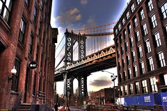 George Washington Bridge (Fotis Korkokios) Tags: city nyc usa newyork building brooklyn unitedstates manhattan dumbo bigapple hdr georgewashingtonbridge urbanlandscape urbanphotography onceuponatimeinamerica canon450d fostis rebelxsi