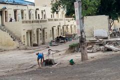 street bath (Pejasar) Tags: street boy india bucket pump bathing waterpump