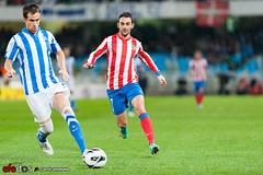 Real Sociedad-Atletico de Madrid (Ortzi Omeñaka) Tags: españa adrian futbol 2012 anoeta atleticodemadrid paísvasco realsociedad donostiasansebastián ligabbva mikelgonzalez