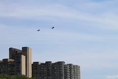 2012_08_18_Chicago_AirShow_026 (ETNevins) Tags: usa chicago skyscraper jets planes blueangels 2012