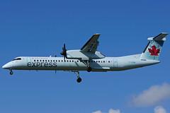 C-GGMI (Air Canada express -JAZZ) (Steelhead 2010) Tags: jazz yyz dash8 bombardier dhc8 creg dhc8400 cggmi aircanadaexpress