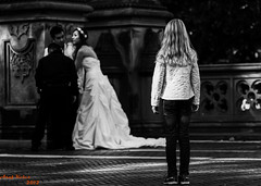 One Day.. (Asaf Keles) Tags: nyc newyorkcity ny newyork girl standing canon was bride kid women all looking little centralpark manhattan think some since oneday midtown have there were they tamron broom feelings the canoneos50d nycinbw tamron70200f28 bridei