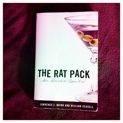 The Rat Pack - book (f l a m i n g o) Tags: vegas book martin review martini title davis author effect bishop app sinatra lawford iphone ratpack quirk neonnights schoell hipstamatic berrypopflash blankofilm janelens kingsofcool