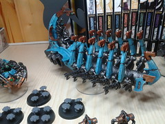 My WIP Necron Army (Nevetz91) Tags: army 40k warhammer necron