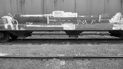 Rail Art (orangedot777) Tags: paintedtrains hoppercar freighttraingraffiti