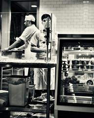 maker of pasta (amy buxton) Tags: 50mm restaurant italian nikon clayton niche stlouis pasta pizza missouri chef gelato waitress waiter d600 pastaria gerardcraft adamaltnether amybuxton