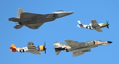 The past & present (Bill Jacomet) Tags: show field wings texas air over houston airshow 2012 ellington
