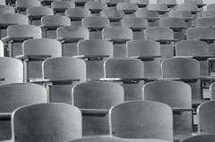 take a seat (joolieboolie) Tags: seattle bw uw campus washington classroom seats universityofwashington lecturehall smithhall