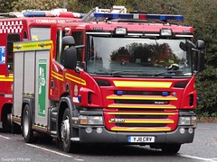 Humberside Fire & Rescue Service Scania P280 Water Tender Ladder H03P1 (PFB-999) Tags: park bridge rescue water training fire exercise country pump and service ladder hull tender appliance humber scania humberside wrt wrl wrtl hfrs p280 yj11crv h03p1