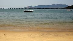 Junqueira's Beach. Mangaratiba, Brazil (Rubem Jr) Tags: ocean city bridge blue brazil beach southamerica water riodejaneiro architecture landscape bluesky paisagem ponte americadosul brasil
