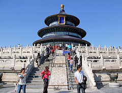 Beijing - Temple of Heaven (Globetreka) Tags: china asia beijing temples templeofheaven globetrekkers chinaimages capturedimages chinathemiddlecountry worldwidetravelogue mygearandme chinathesilkroad mygearandmeglobetrekkersgiveme5photographersworldaplaceforgreatphotographersphotosfromworldflickrawardthebestshotcentralasia