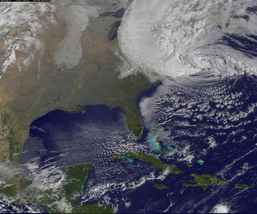 From flickr.com: Satellite View of Hurricane Sandy on Oct. 29, 2012