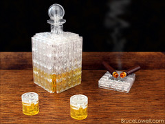 LEGO Whiskey and Cigars (bruceywan) Tags: lego whiskey cigar jackdaniels photostream gentlemanjack moc no7 ironbuilder brucelowellcom ironbuilder2 ibbl2