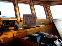 Wheelhouse (davensuze (Seriously, I'm not Ted Raynor)) Tags: from black was boat view interior everybody it made deck where and l ready getting hull press dressed traps leading decision flooded on pulled aboard continentalshelf davensuze hallway