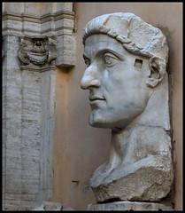 CONSTANTINO I EL GRANDE (stavlokratz) Tags: italy rome roma italia escultura romanempire antigedad imperioromano museocapitolino palazzodelconservatori constantinoielgrande