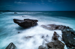 The Anvil - Point Arkwright (SteveGreaves) Tags: ocean longexposure rocks australia queensland pointarkwright canon5dmarkiii ef1635mmliiusm sunshinecoastleebigstopfilter