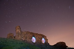 Holy Grail Guardians 4/365 (Gareth Brooks) Tags: longexposure lightpainting holygrail camelot day4 nationalgeographic polaris startrail castelldinasbran project365 dinasbrancastle ironagehillfort garethbrooks orbmach2