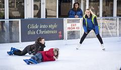 Glide into style this Christmas (Ianmoran1970) Tags: christmas boy cold fall ice boys liverpool funny lol skating trick moran icefestival mandown liverpoolone ianmoran ianmoran1970