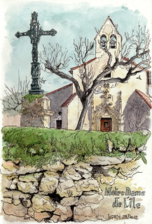 Luzech, Notre Dame de l'île